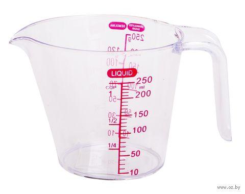 Стакан мерный пластмассовый (250 мл) — фото, картинка