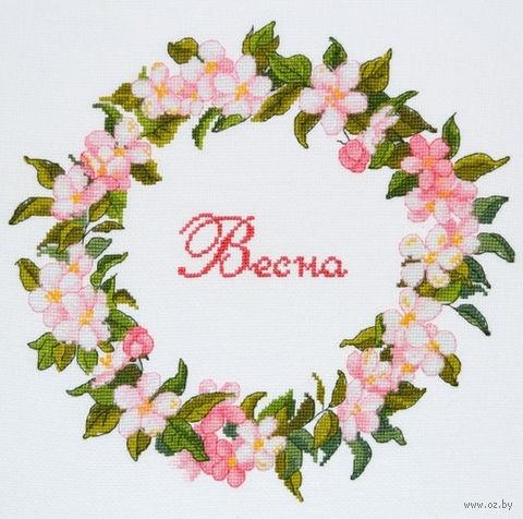 """Вышивка крестом """"Весна"""""""