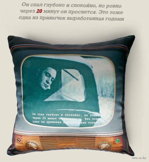 "Подушка ""Штирлиц"" — фото, картинка"