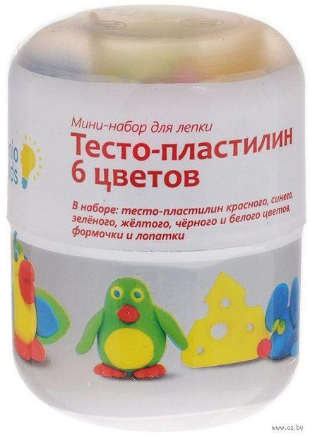 """Набор для лепки """"Тесто-пластилин"""" (6 цветов) — фото, картинка"""