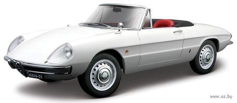 "Модель машины ""Bburago. Alfa Romeo Spider 1966"" (масштаб: 1/32) — фото, картинка"
