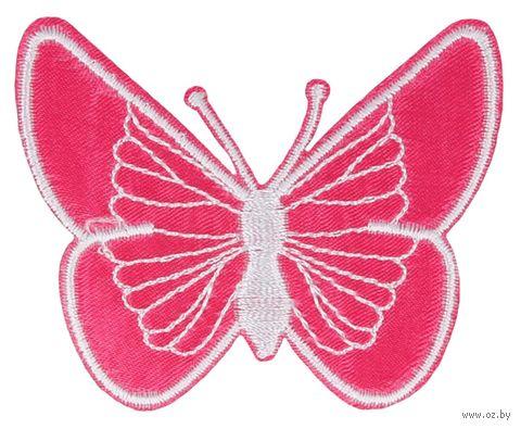 "Термоаппликация ""Бабочка розовая"" — фото, картинка"