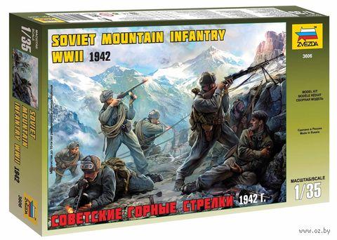 """Набор миниатюр """"Советские горные стрелки"""" (масштаб: 1/35) — фото, картинка"""