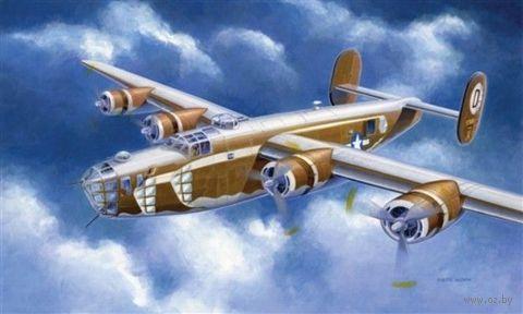 """Бомбардировщик """"B-24D Liberator"""" (масштаб: 1/72) — фото, картинка"""
