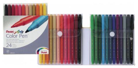 """Фломастеры """"Color Pen"""" (24 цвета)"""