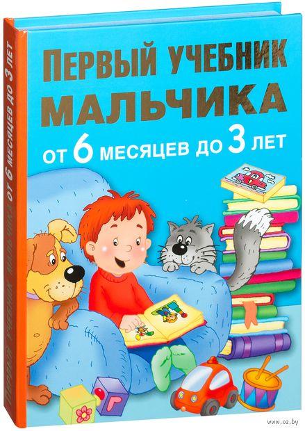 Первый учебник мальчика от 6 месяцев до 3 лет — фото, картинка