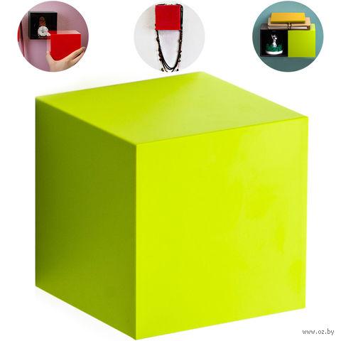 "Полка-вешалка ""Pixel"" (зеленая)"