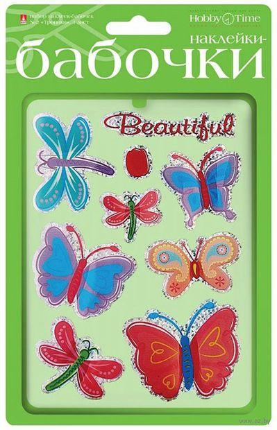 "Набор наклеек декоративных ""Бабочки. Тропики"" — фото, картинка"