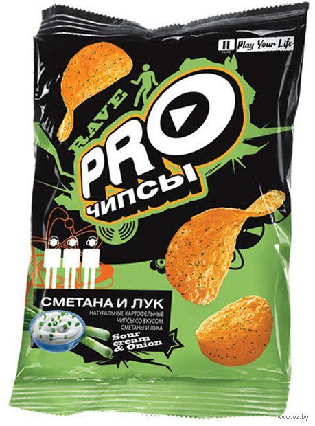 """Чипсы картофельные """"Pro-чипсы. Со вкусом сметаны и лука"""" (150 г) — фото, картинка"""