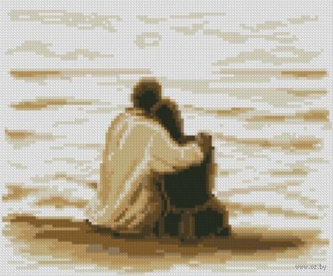 """Алмазная вышивка-мозаика """"На берегу моря"""""""