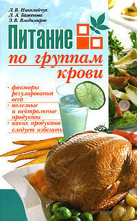 Питание по группам крови. Л. Николайчук, Л. Баженова
