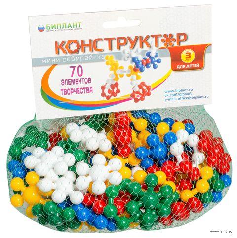 "Конструктор ""Минисобирай-ка №1"" (70 деталей) — фото, картинка"