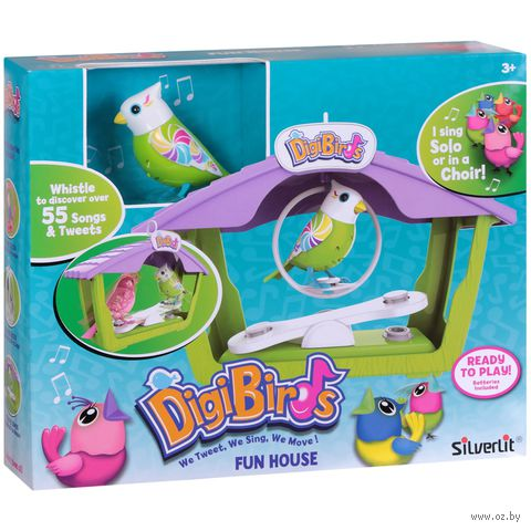 """Интерактивная игрушка """"Птичка с домиком"""""""