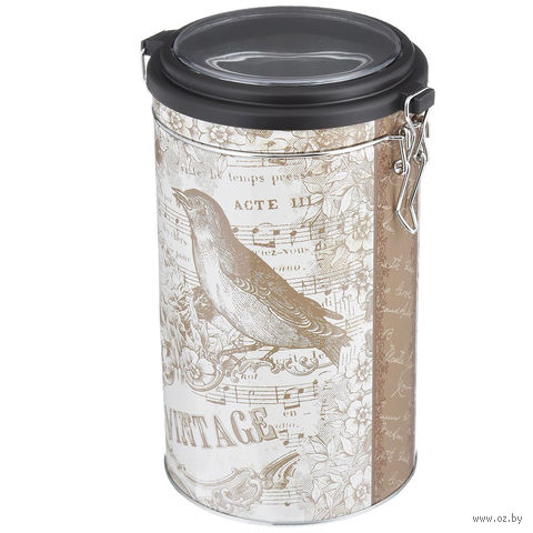 "Банка для сыпучих продуктов ""Птица"" (1800 мл, арт. 37633) — фото, картинка"