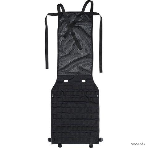Панель Molle на автомобильное сиденье (чёрная) — фото, картинка