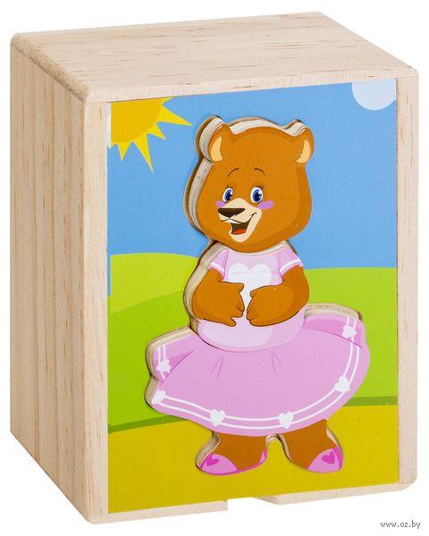 """Деревянная игрушка """"Медвежонок Катя"""" — фото, картинка"""