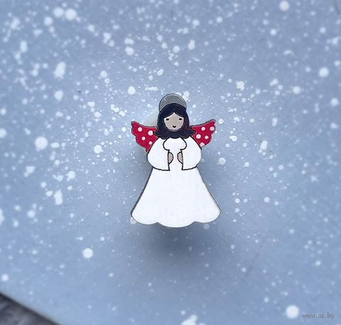 "Брошь ""Ангелочек маленький"" (арт. 216-2) — фото, картинка"