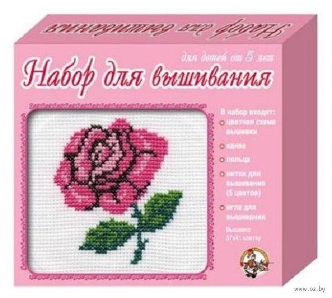 "Вышивка крестом ""Роза"" (арт. 00317)"