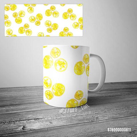 """Кружка """"Лимоны"""" — фото, картинка"""