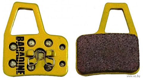 """Колодки тормозные для велосипеда """"DS-37 Sintered"""" — фото, картинка"""