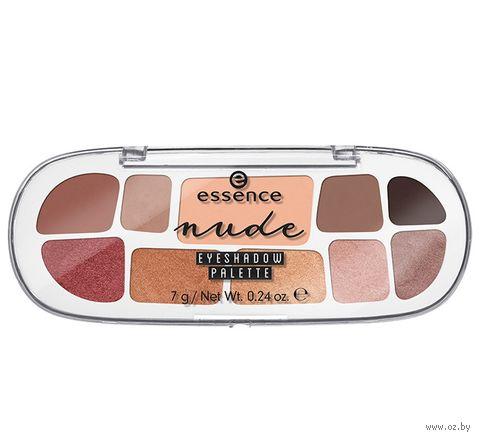 "Палетка теней для век ""Nude Eyeshadow Palette"" (10 оттенков) — фото, картинка"