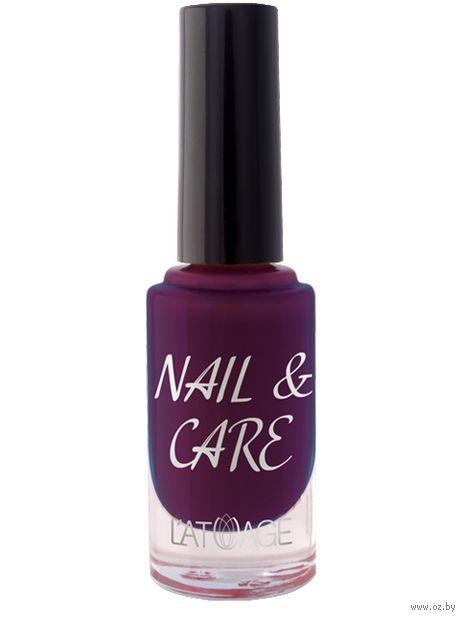 "Лак для ногтей ""Nail and Care"" тон: 611 — фото, картинка"