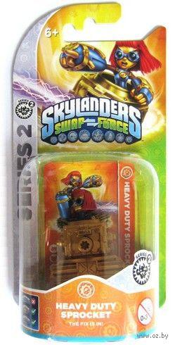 Skylanders Swap Force. Интерактивная фигурка Heavy Duty Sprocket