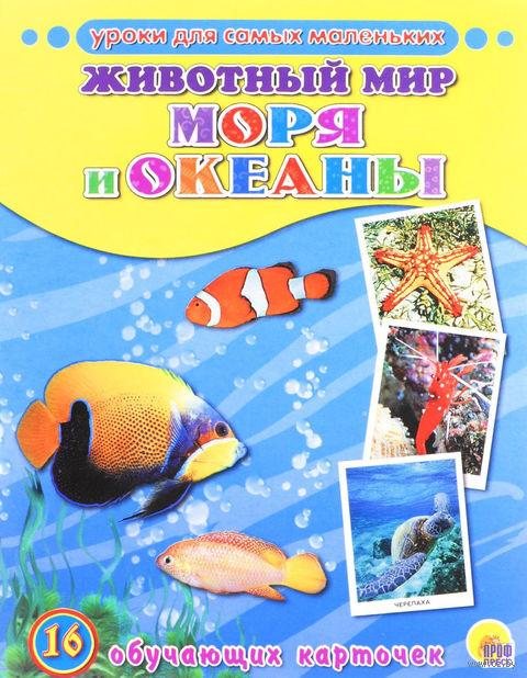 Животный мир. Моря и океаны. 16 обучающих карточек