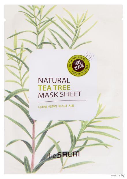 """Тканевая маска для лица """"С экстрактом чайного дерева"""" (21 мл) — фото, картинка"""