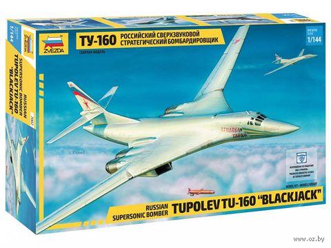 """Сборная модель """"Самолет Ту-160"""" (масштаб: 1/144) — фото, картинка"""