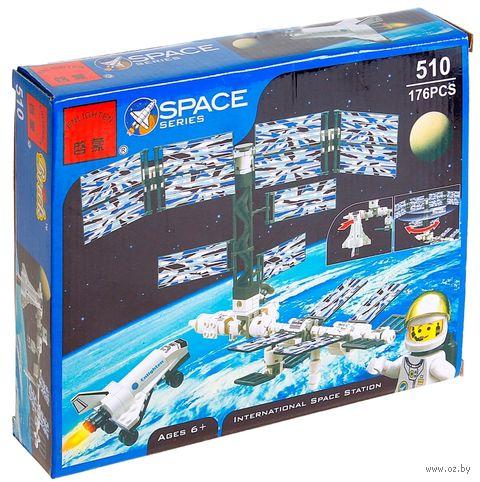 """Конструктор """"Space. Космическая станция"""" (176 деталей) — фото, картинка"""