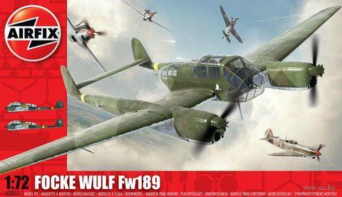 """Самолет разведчик """"Focke Wulf Fw189"""" (масштаб: 1/72) — фото, картинка"""