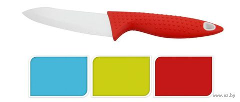 Нож керамический с пластмассовой ручкой (12/24 см, арт. YN1200790)