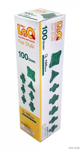 "Конструктор ""LaQ. Free Style 100 Green"" (100 деталей)"