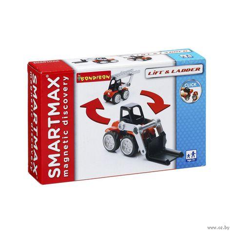 """Конструктор магнитный """"SmartMax. Спецтехника"""" (7 деталей)"""