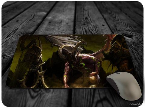 """Коврик для мыши """"Варкрафт"""" (арт. 3) — фото, картинка"""