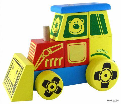 "Каталка ""Трактор"" (арт. КТР01) — фото, картинка"