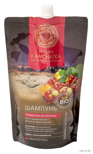 """Шампунь для волос """"Северные витамины"""" (500 мл) — фото, картинка"""