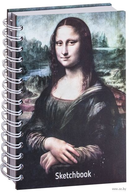 """Скетчбук """"Да Винчи. Мона Лиза"""" (A5) — фото, картинка"""