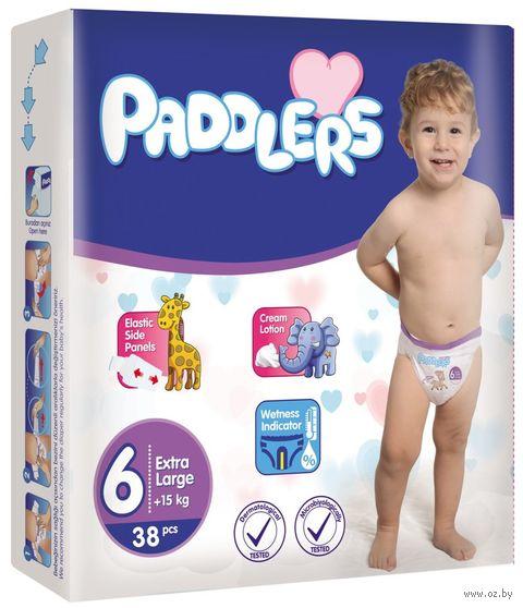 "Подгузники ""Paddlers Extra Large"" (15+ кг; 38 шт.) — фото, картинка"