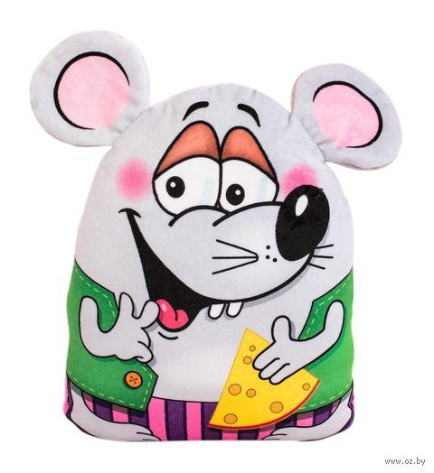 """Мягкая игрушка """"Ушастый мышонок"""" (34 см) — фото, картинка"""