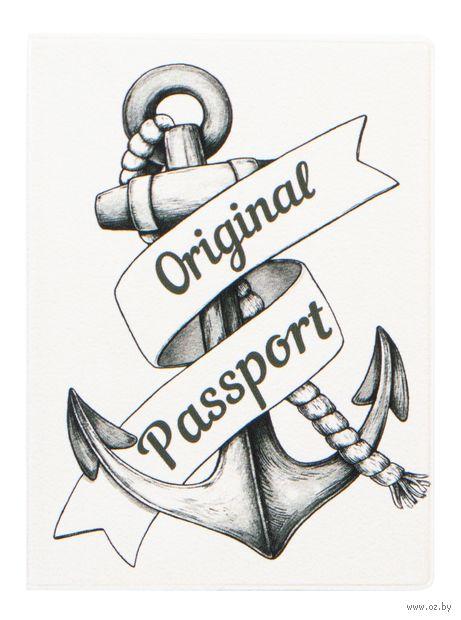 """Обложка для паспорта """"Anchor"""" — фото, картинка"""