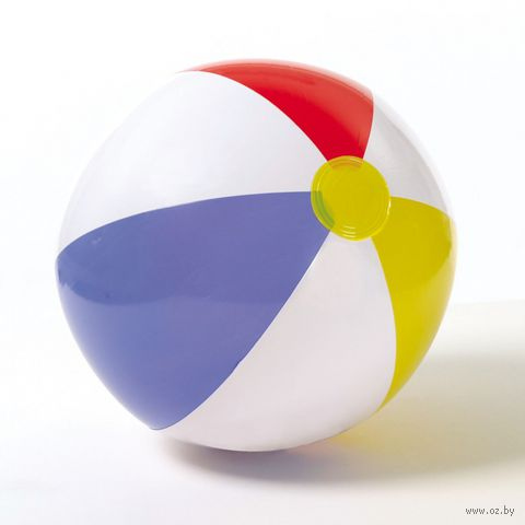 Мяч пляжный надувной пластмассовый (51 см; арт. 59020)