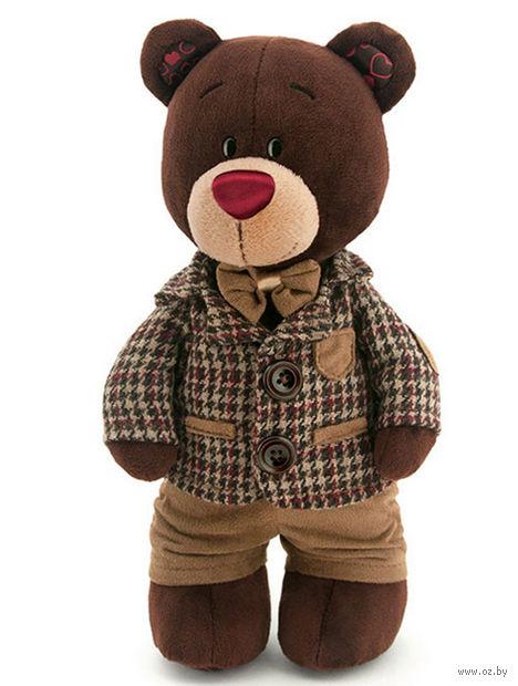 """Мягкая игрушка """"Медведь Choco в пиджаке"""" (30 см) — фото, картинка"""