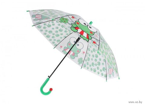 "Зонт-трость ""Лягушка"" — фото, картинка"