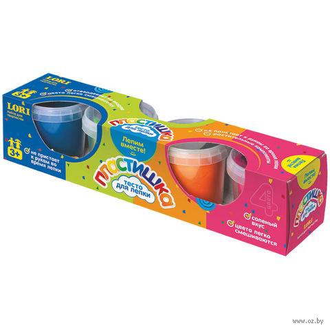 "Тесто для лепки ""Набор №5"" (в картонной коробке 4 цвета)"