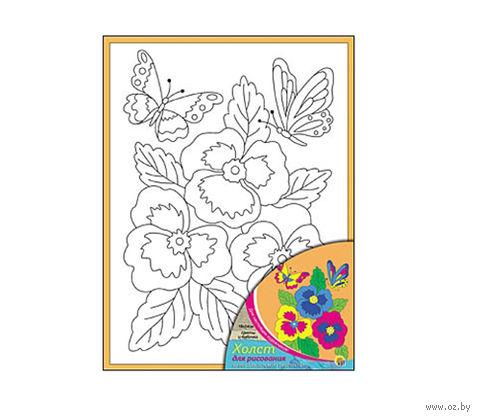 """Набор для рисования """"Цветы и  бабочки"""""""