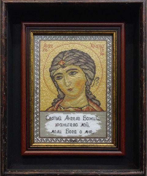 """Вышивка крестом """"Ангел-хранитель"""" (180х255 мм) — фото, картинка"""