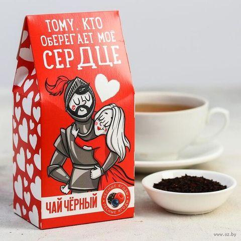 """Чай черный """"Тому, кто оберегает"""" (50 г) — фото, картинка"""