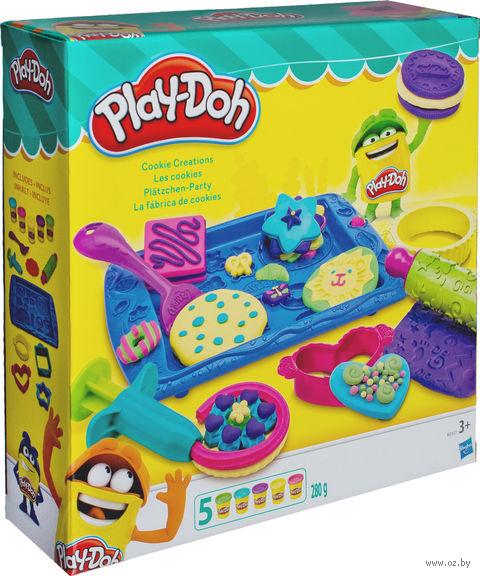"""Набор для лепки """"Play-Doh. Печенье"""" — фото, картинка"""